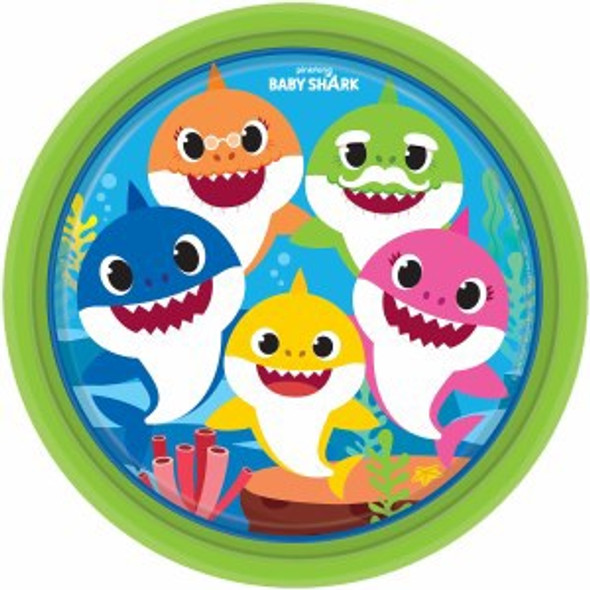 Baby Shark Party Plates