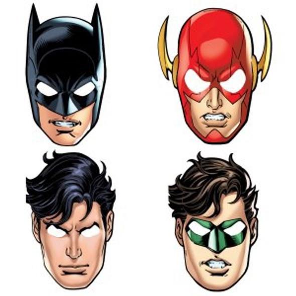 Justice League Party Masks
