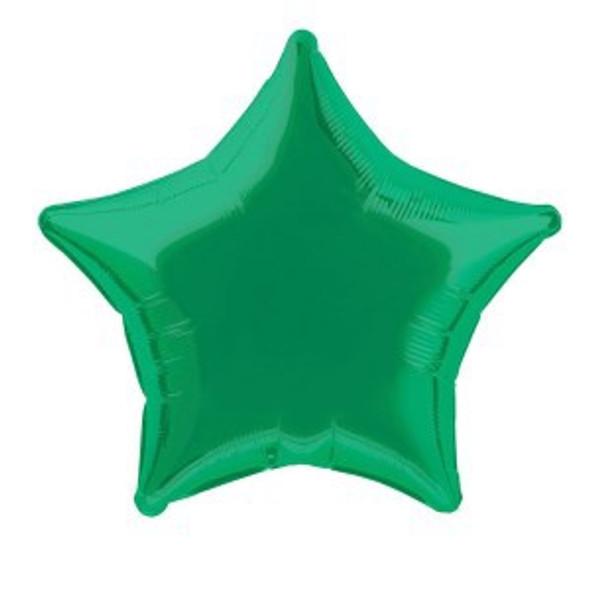 Emerald Green Star Balloon
