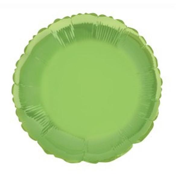 Lime Green Foil Balloon