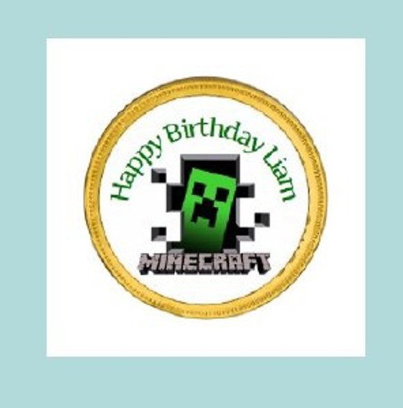 15Pk Minecraft Chocolate Coins