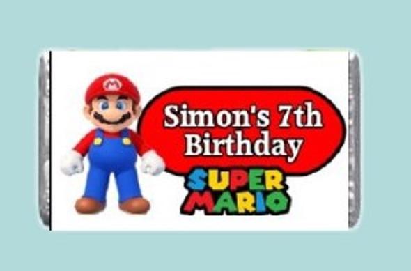 7Pk Super Mario Chocolates