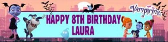Personalised Vampirina Banner