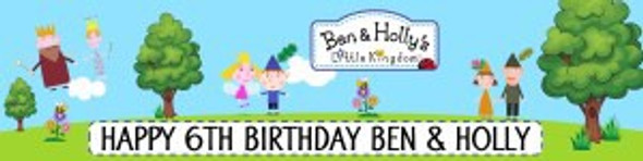 Personalise Ben & Holly Banner