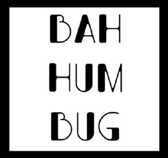 6Pk Bah Hum Bug Beer Labels