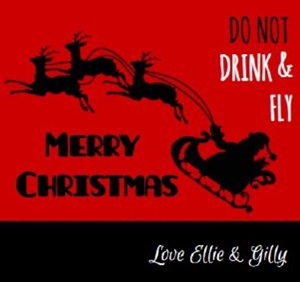 6Pk Drink & Fly Beer Labels