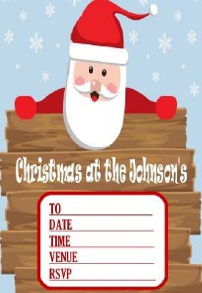 Personalised Santa Invites
