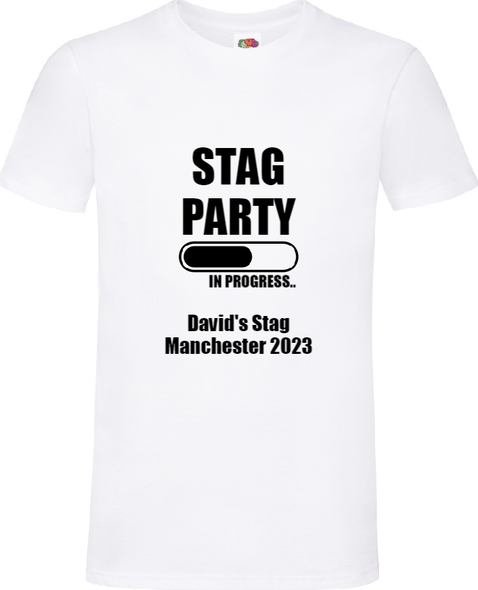 Stags On Tour T-Shirt