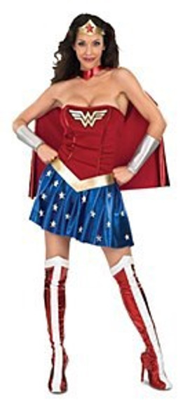 Ladies Wonderwoman Costume