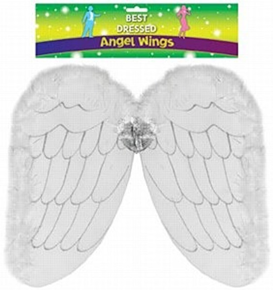 Angel Wings with Glitter
