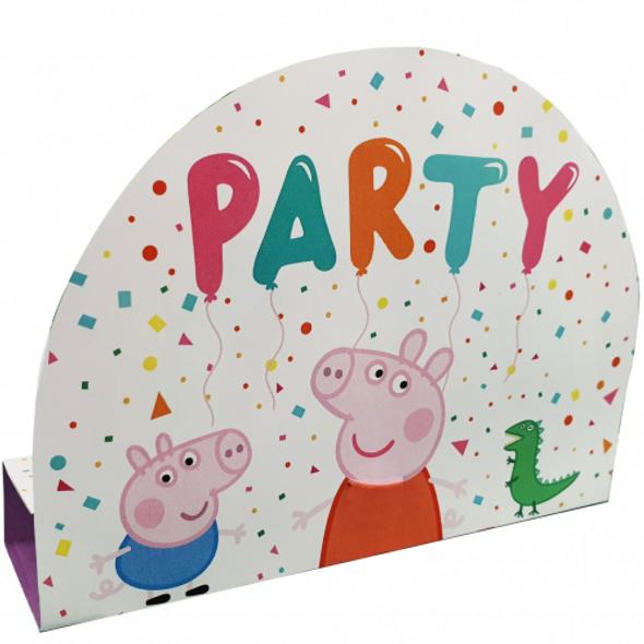 Peppa Pig Balloon Party Invitations