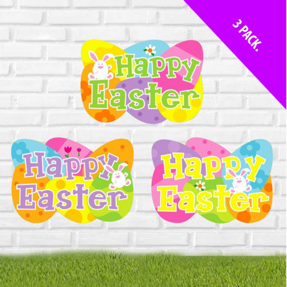3Pk Easter Signs