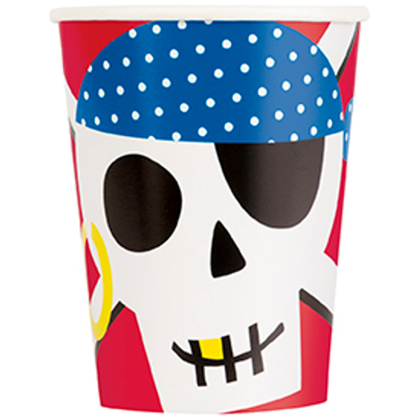 Ahoy Birthday Party Cups