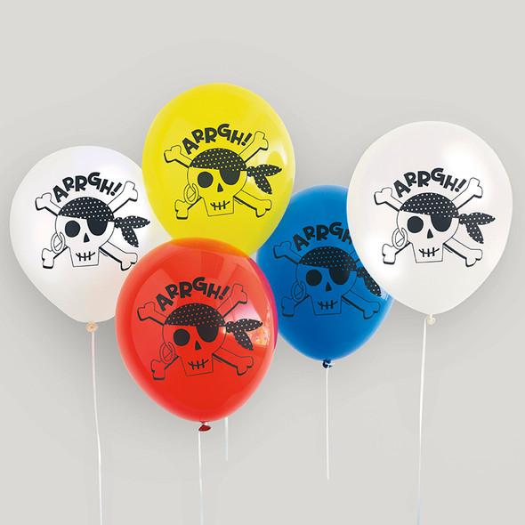 Ahoy Birthday Party Balloons