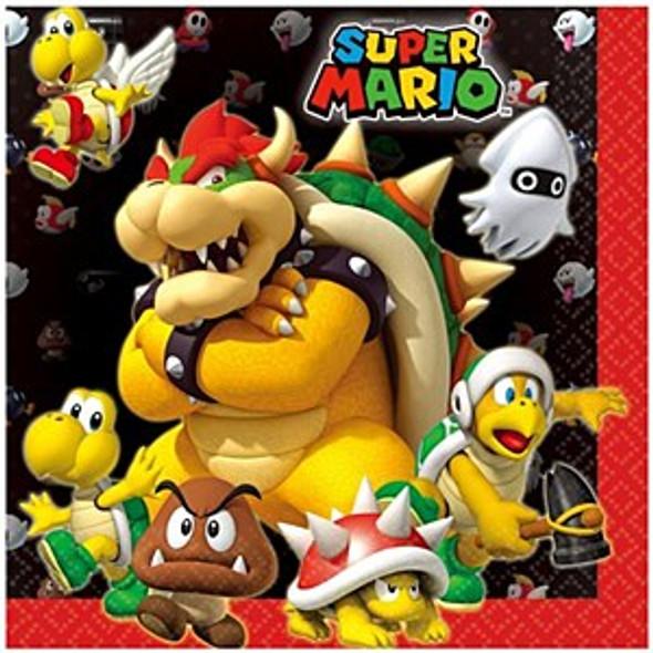 Super Mario Party Napkins