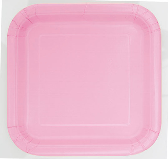 Pastel Pink Dessert Plates (16 Pack)