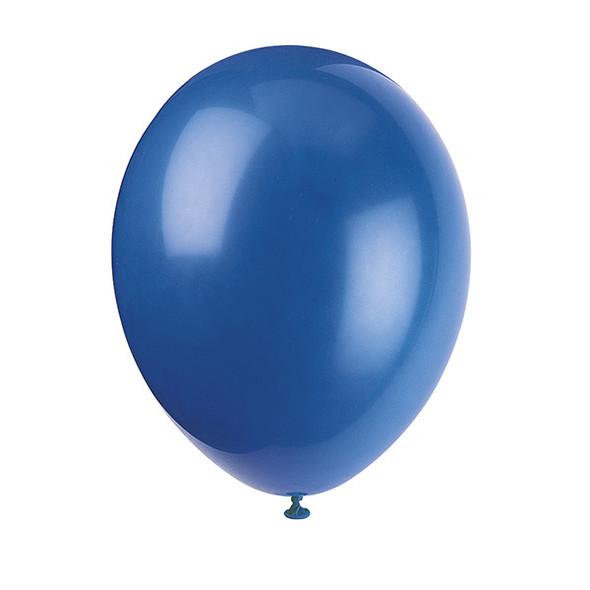 50pk Evening Blue Balloons