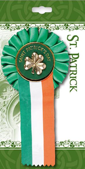 Saint Patrick's Day Rosette Badge
