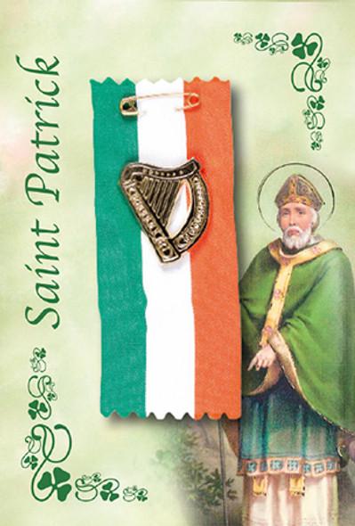 St Patrick's Dag Flag Badge