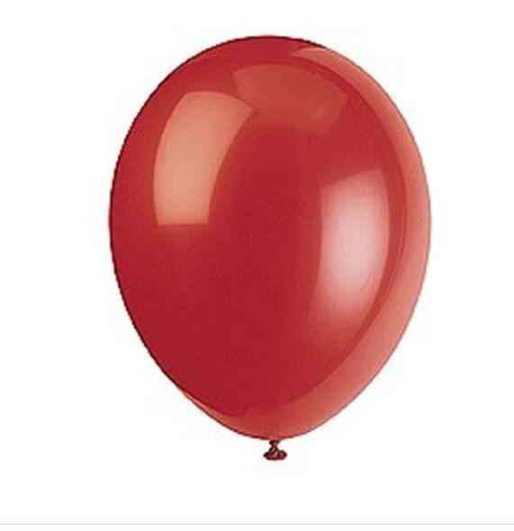 50pk Scarlet Red Balloons