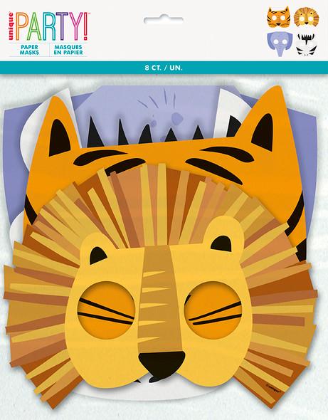 Safari Animal Party Masks