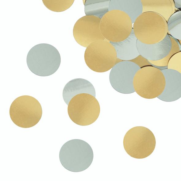 Gold & Silver Foil Confetti