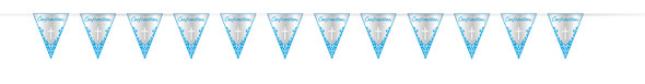 Blue Cross Confirmation Pennant Banner