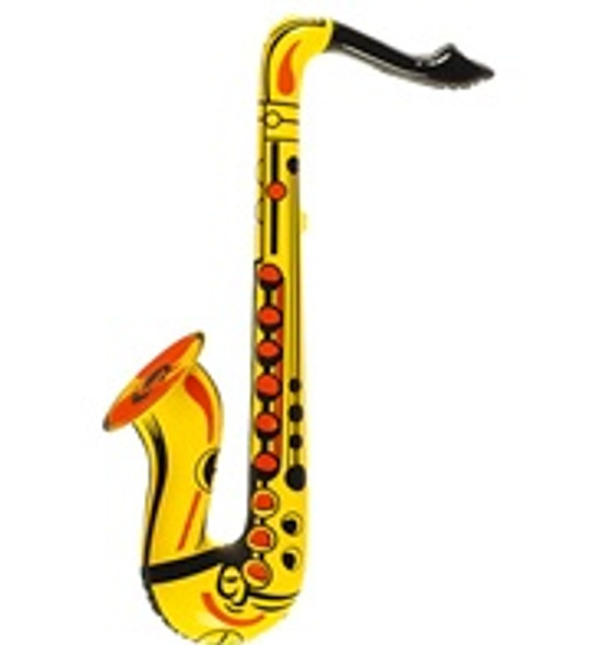 Inflatable Saxophone Gold