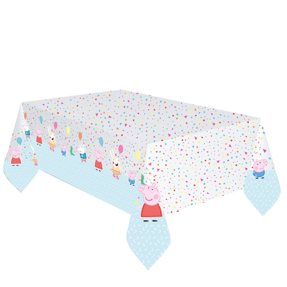 Peppa Pig Balloon Tablecover