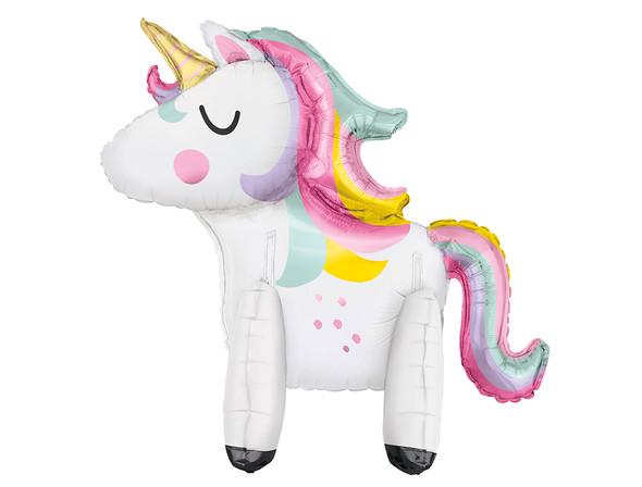 Standing Unicorn Foil Balloon