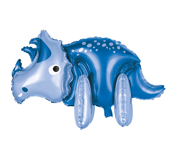 Triceratops Standing Foil Balloon