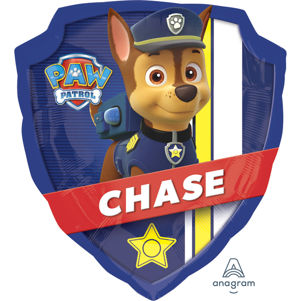 Paw Patrol Shield Supershape Foil Balloon