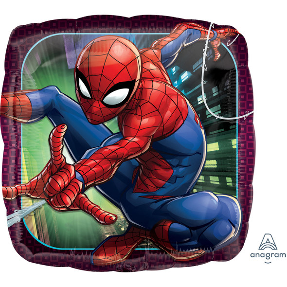 Spiderman Animated Foil Balloon