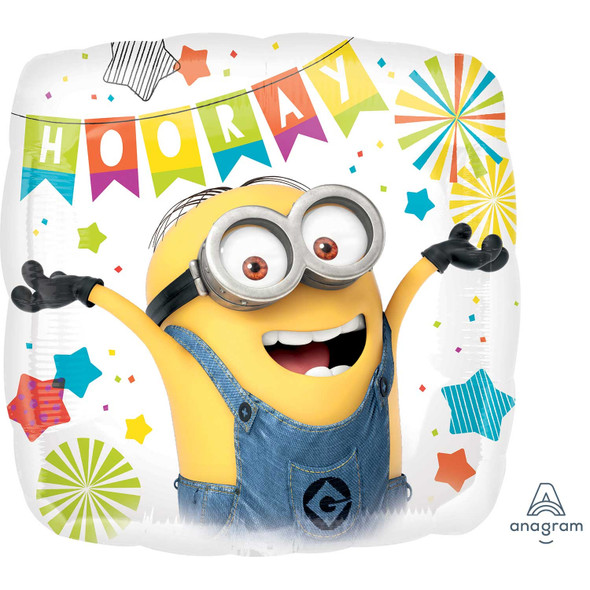 Despicable Me Party Foil Balloon