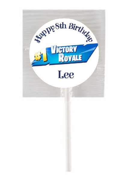 15Pk Battle Royal Lollipops