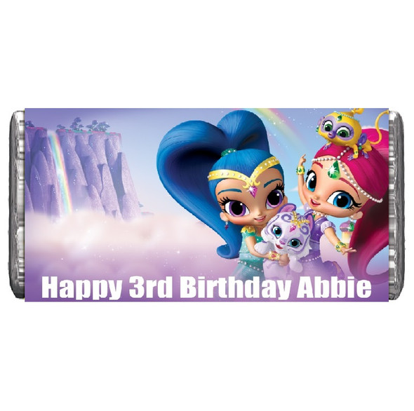 7Pk Shimmer & Shine Chocolate Bars