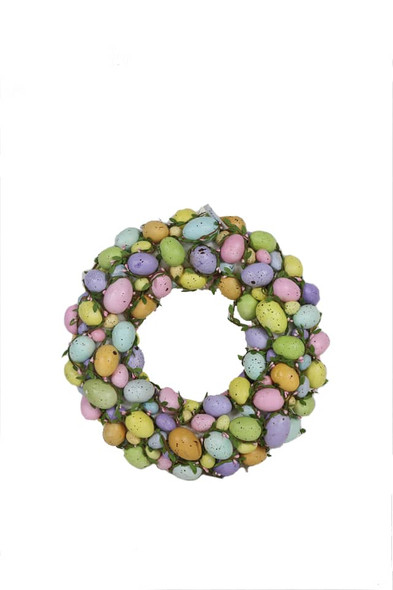 Deluxe Easter Egg Wreath