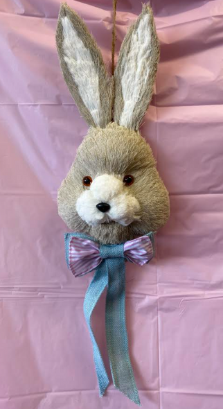 Small Easter Bunny Head Decoration