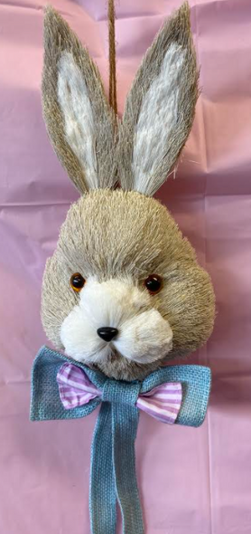 Large Easter Bunny Head Decoration