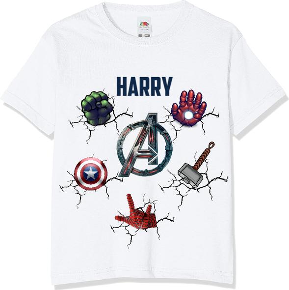 Personalised Avengers T-Shirt