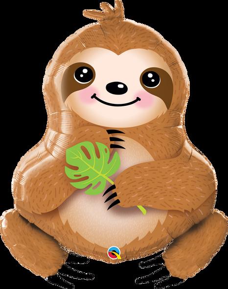 Sloth Supershape Foil Balloon