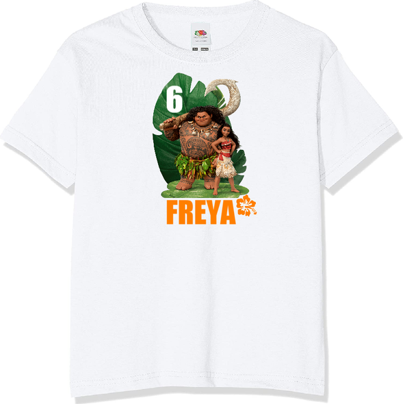 Personalised Moana T-shirt