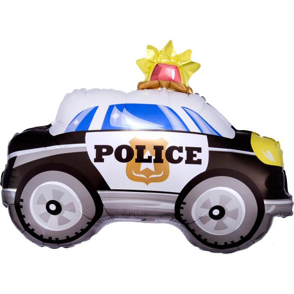 Police Car Supershape Foil Balloon