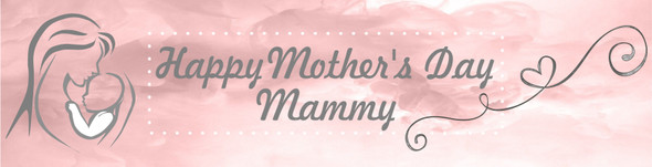 Personalised Mother's Day Banner