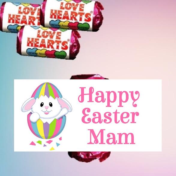 9Pk Easter Bunny Love Heart Sweets