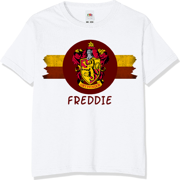 Personalised Gryffindor T-shirt