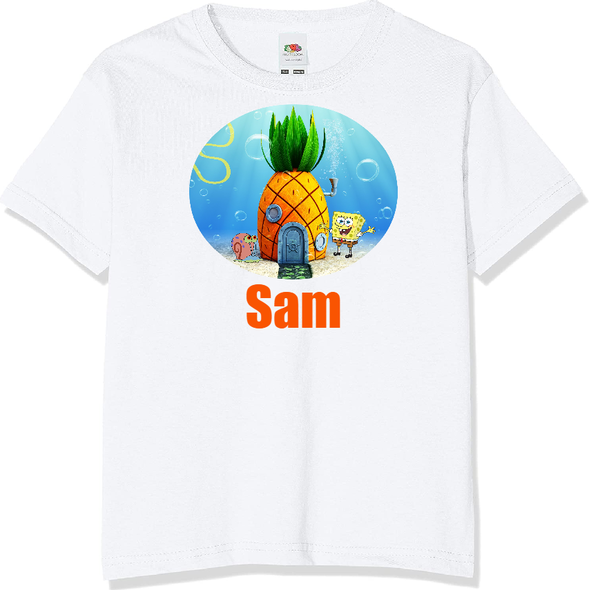 Personalised Spongebob T-shirt
