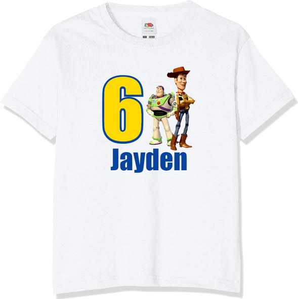 Personalised Toy Story T-shirt