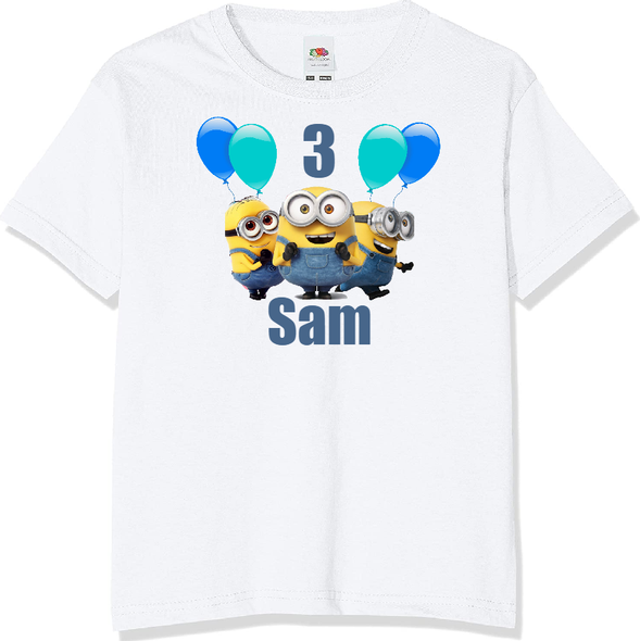 Personalised Minions T-shirt