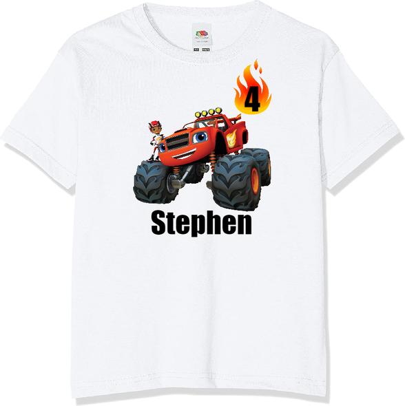 Personalised Blaze T-shirt